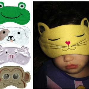 Animal Eye Mask In The Hoop