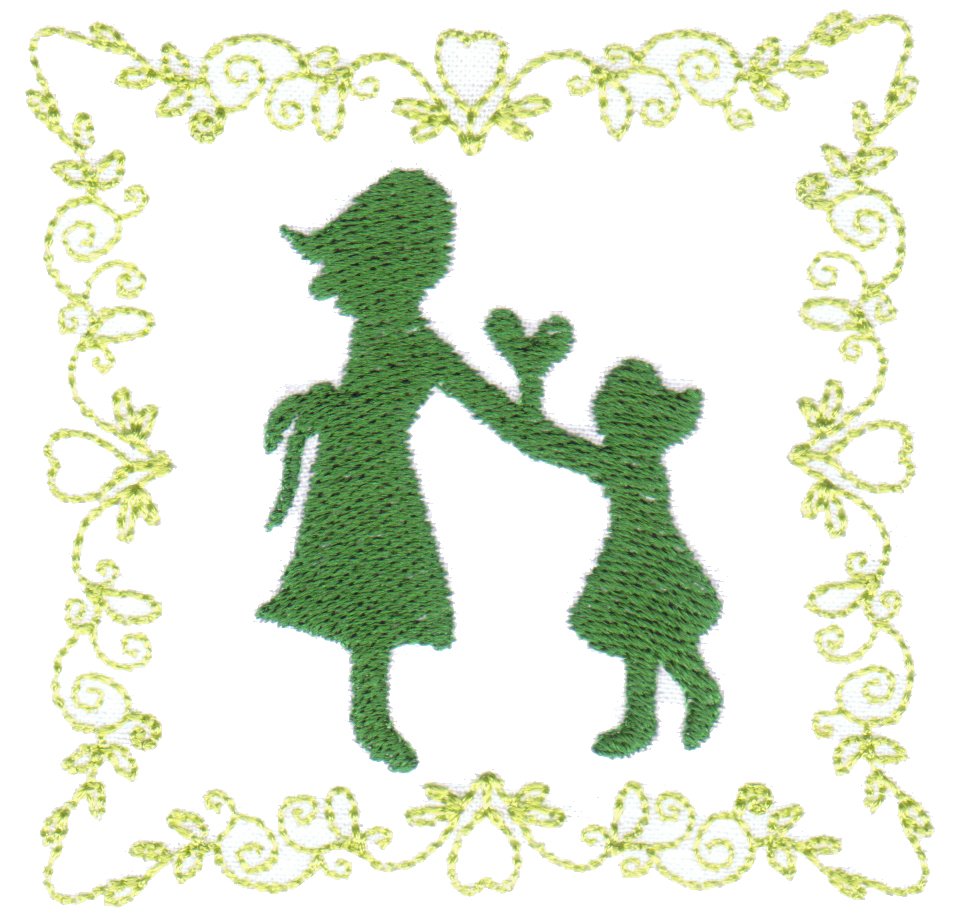Mother's Love Coasters In the Hoop