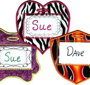 Tag You're IT! Luggage Tags In The Hoop