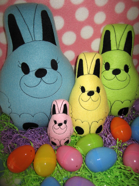 Easter Gifts In The Hoop