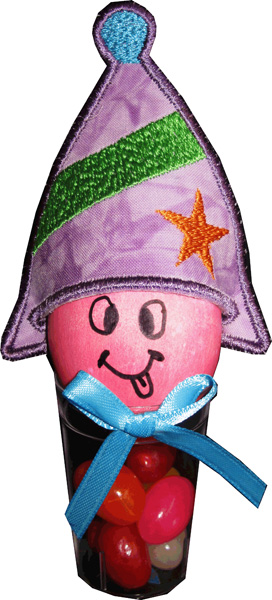 Easter Eggs Hats - Party Hat In The Hoop