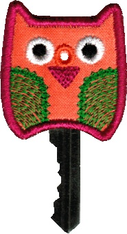 Key Cover - Owl In The Hoop
