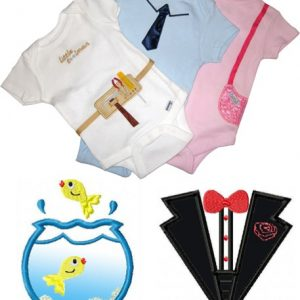 Oh Baby Applique Set