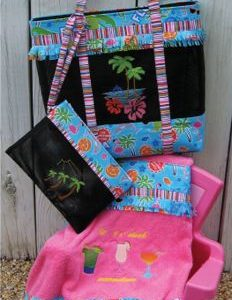 The Beachy Bag and Towel - Pattern