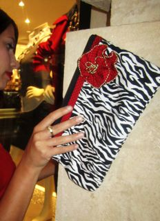 Snap Top Gathered Clutch - Pattern