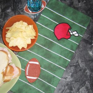 Football Party Centerpiece-Pattern & Designs
