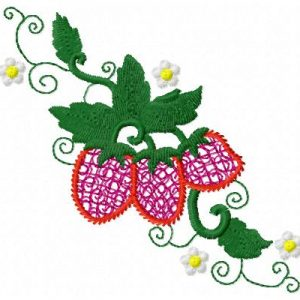 Sweet Mylar Strawberry Single 14
