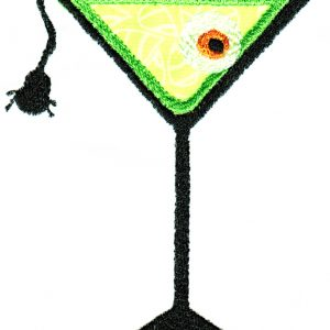 Creepy Cocktails Applique Single 02
