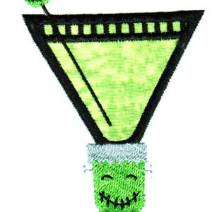 Creepy Cocktails Applique Single 03