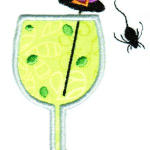 Creepy Cocktails Applique Single 06