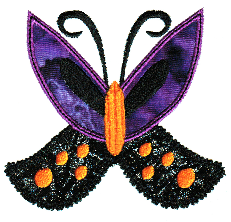 Halloween Cuties Applique Single 07