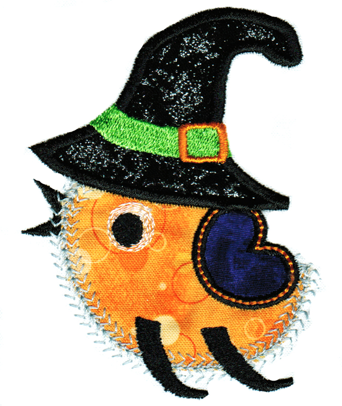 Halloween Cuties Applique Single 09