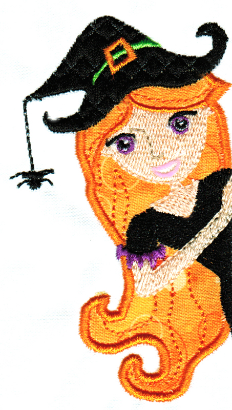 Halloween Cuties Applique Single 11