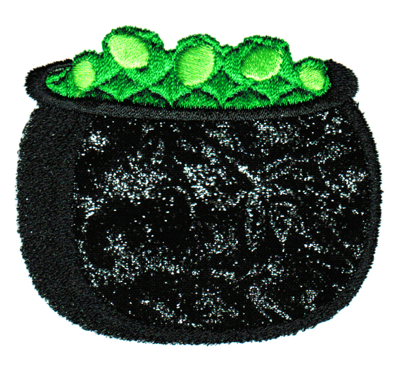 Halloween Cuties Applique Single 13