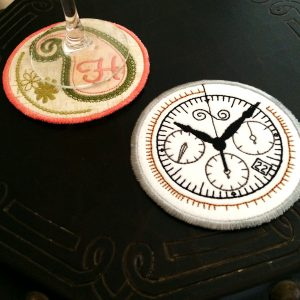 Round Coasters In The Hoop