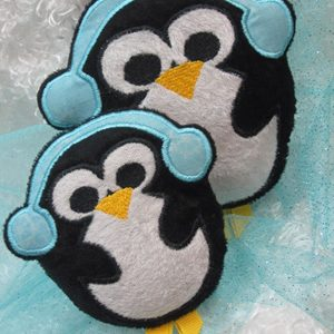 Penguin Softie In The Hoop