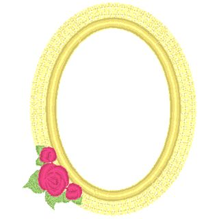 Tea Rose Frame