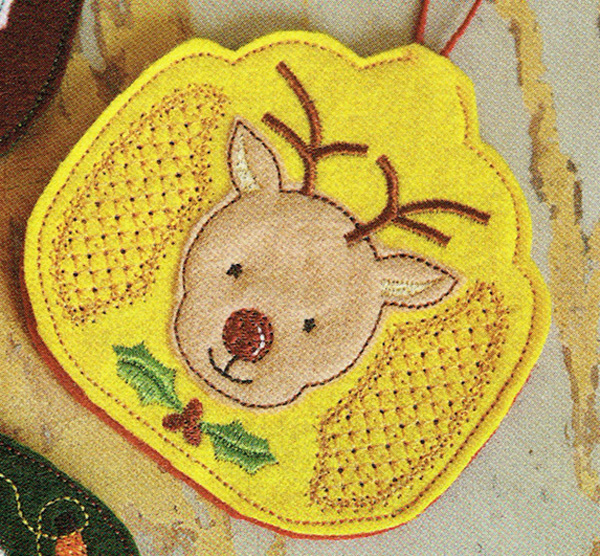 Seasonal Air Freshener Cover In The Hoop Set