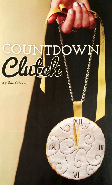 Countdown Clutch In the Hoop