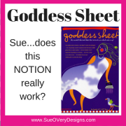 Goddess Sheet product review – PLUS a Serger project