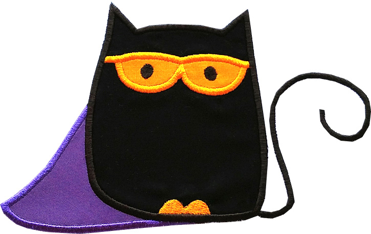 Trick or Treat Applique Single 04