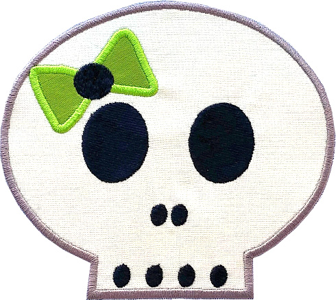 Trick or Treat Applique Single 06