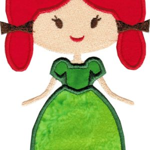 St. Patty Gal Applique - 2 Sizes