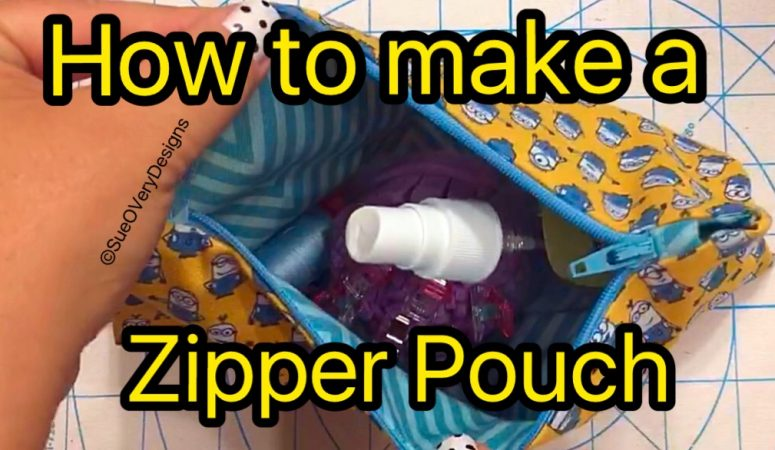 How to Make a Zipper Pouch