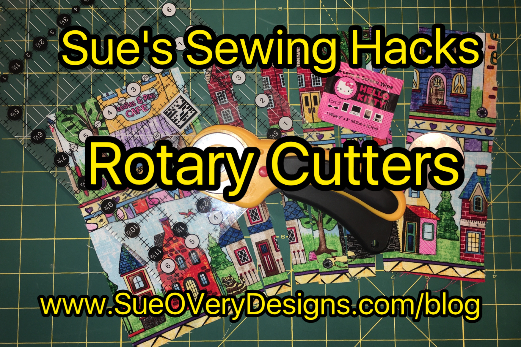 Rotary Cutter How To Clean Sue Overy Designs