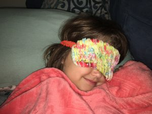Chenille Eye Mask In The Hoop