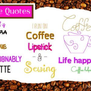 Coffee Quotes_set