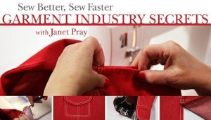 sewing tricks from garment industry