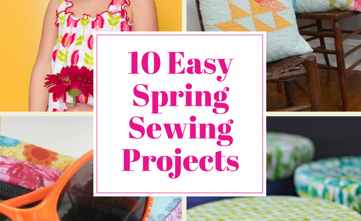 10 easy spring sewing projects