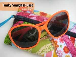 sunglass case free pattern spring sewing pattern