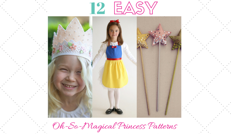 12 Easy, Sweet and Oh-So-magical Princess Patterns