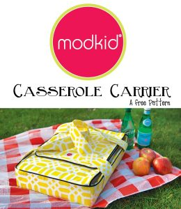 casserole carrier free pattern spring sewing pattern