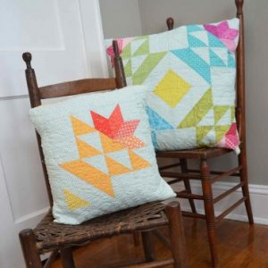 spring sewing projects accuquilt blooping basket pillow