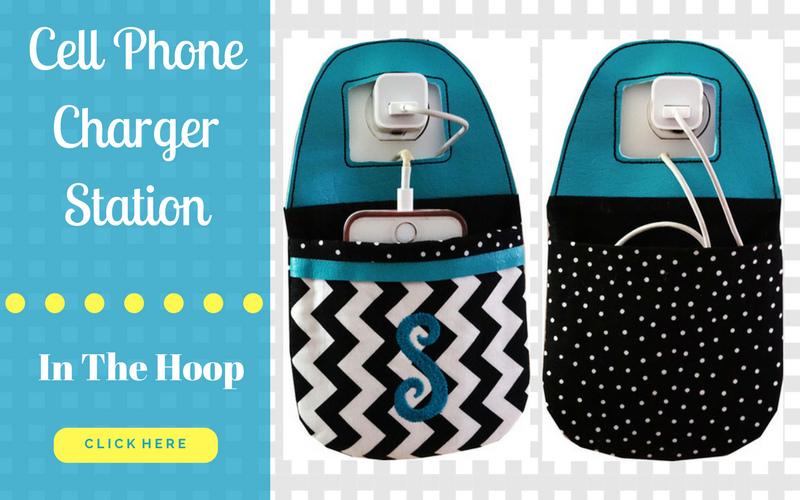 How To Make An In The Hoop Cell Phone Charger Station