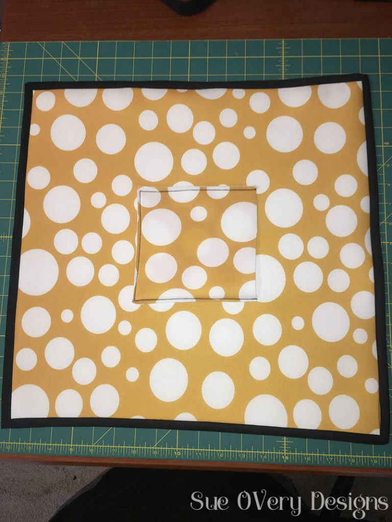 how to make a lunchbox by Sue OVery Designs