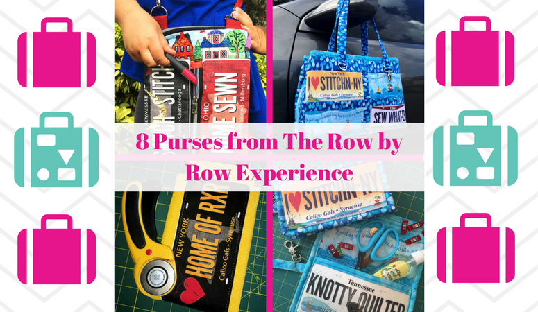 8 Amazing Accessories and Purses from The Row by Row Experience