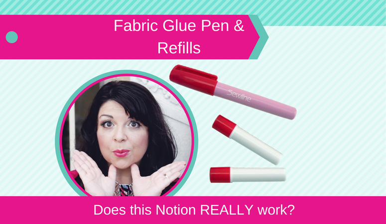 How to use Fabric Glue Pen with refills, Does this Notion REALLY Work?