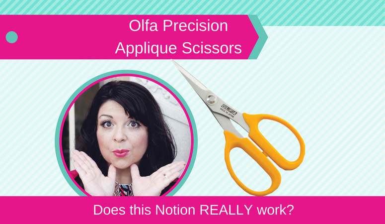 How to use Olfa Precision Applique Scissors, Does this Notion REALLY Work_ Olfa Precision Applique Scissors