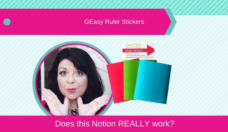 How to use GEasy Ruler Stickers, Does this Notion REALLY Work