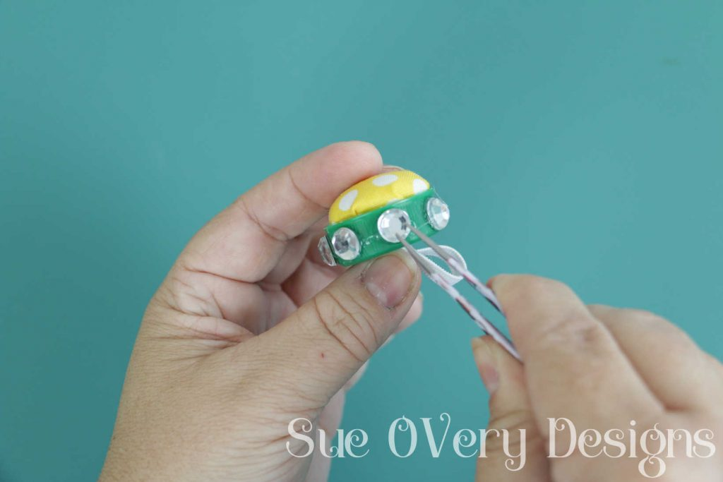 5 minute FREE, Easy, Fast and Super Glamours DIY Ring Pin Cushion - how to make a ring pin cushion - ring pin cushion