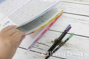 How to use Quilter's planner 2018 - Quilters planner