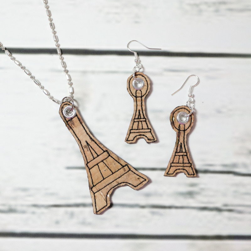 T92_eiffel necklace and earrings_jewelry_Charms