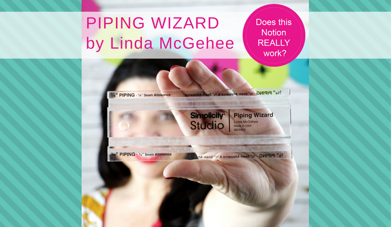 how to make piping, piping wizard, piping ruler, piping wizard diy, how to use the piping wizard ruler, Does this notion really work