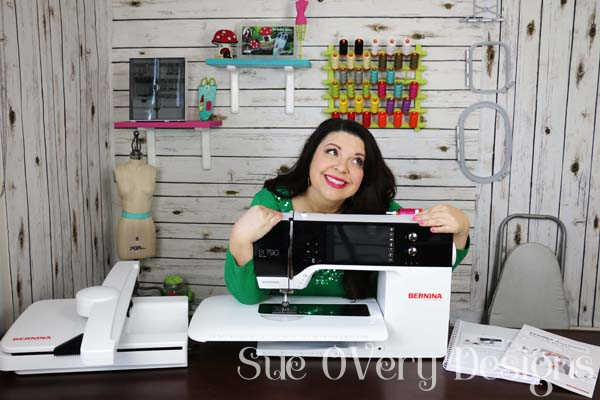 NEW BIG Amazing Exclusive news! Announcing something exciting - Surprise, I'm officially a BERNINA Ambassador - How to UnBox the BERNINA 790 Plus23