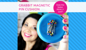 How to use the Grabbit Magnetic Pin Cushion