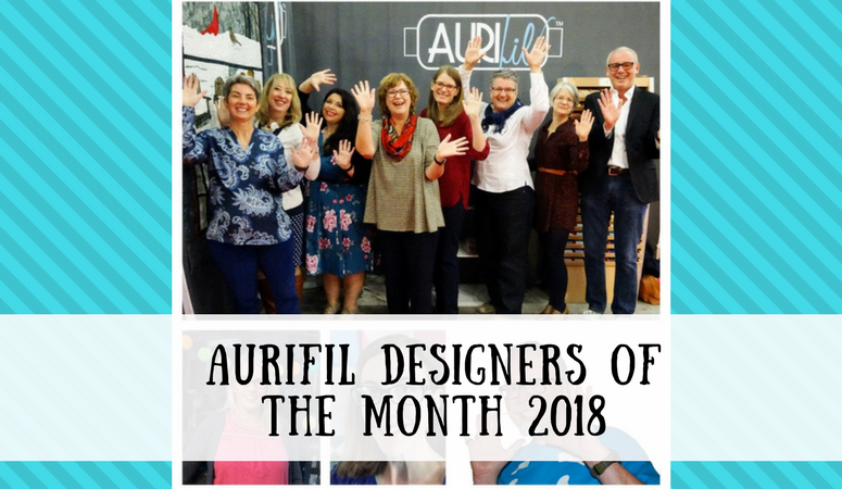 AURIFIL DESIGNERS OF THE MONTH – 2018 –